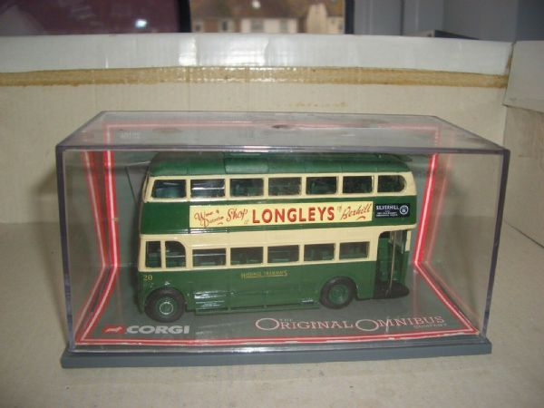 Corgi OOC 40102 Park Royal Trolleybus Hastings Silverhill NC